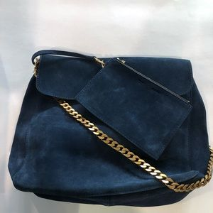 Blue Celiné Purse